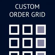 Custom Order Grid